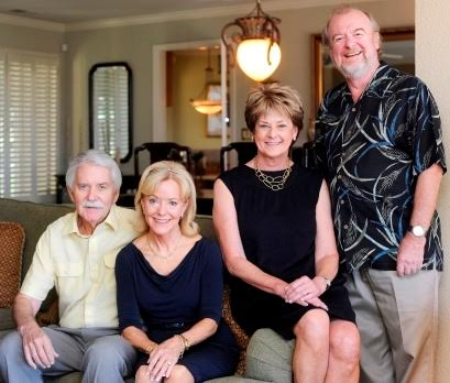 Coldwell Banker, Kappel & Kappel and Gateway Realty co-owners/brokers, from left to right, Steve Kappel, Sue Kappel, Bev Dorsett and Steve Spencer. (Robinson Kuntz/Daily Republic)